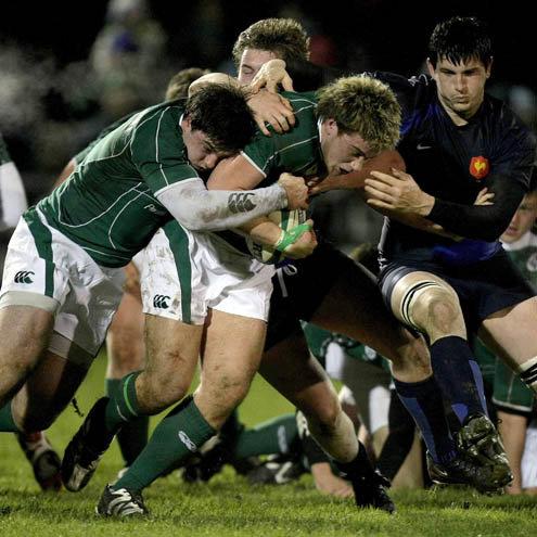 Comme contre L'Irlande, Loann Goujon sera titulaire en troisième ligne