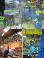 Déco jaune et bleu