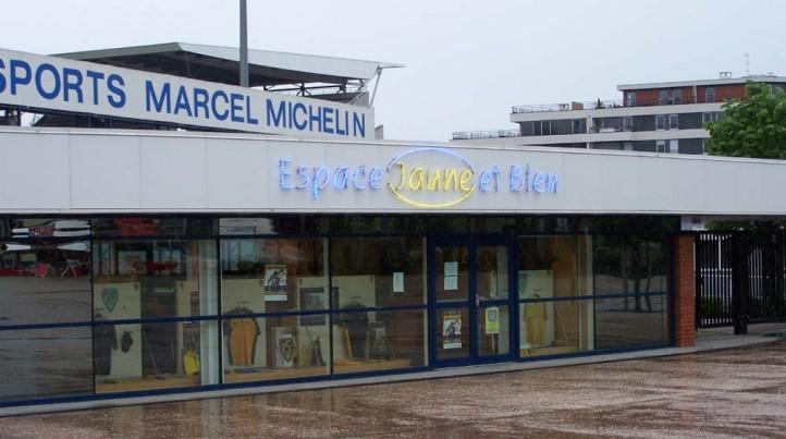 Boutique ASM du Stade Marcel Michelin - Espace Jaune et Bleu