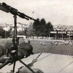 Vieille photo du stade Marcel Michelin : 1936