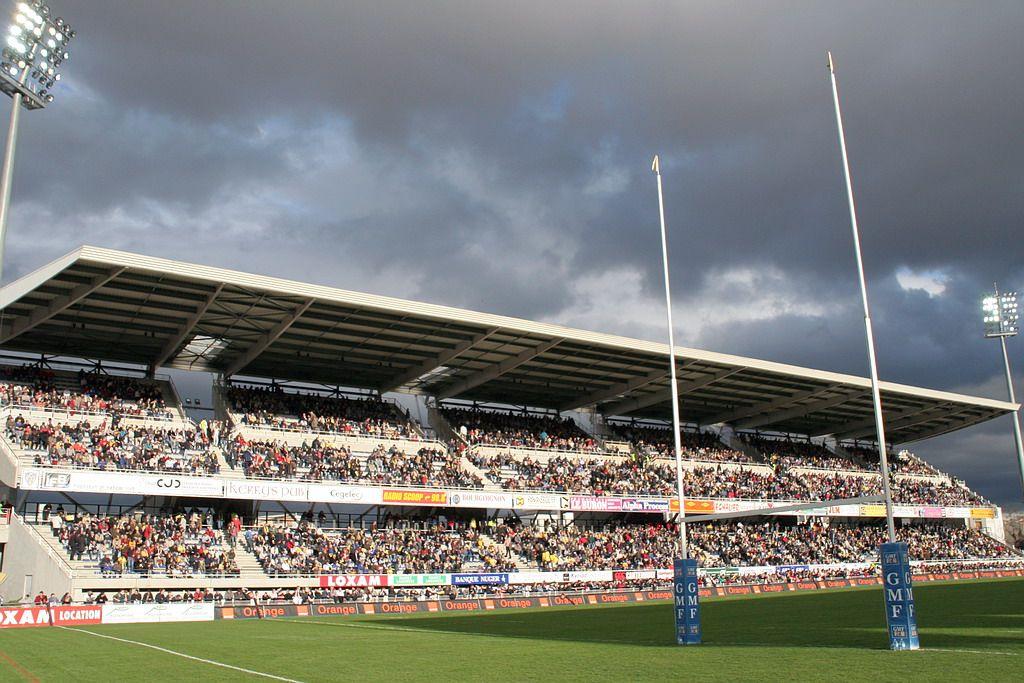 Stade Marcel Michelin Tribune Auvergne
