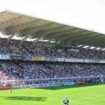 Stade Marcel Michelin : tribune Volvic