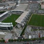 Stade Marcel Michelin + terrain d'entrainement vue aérienne par Vincent Roche