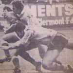 essai de Dubertrand contre l'australie 1976