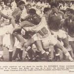 Sélection Française/Argentine 1982