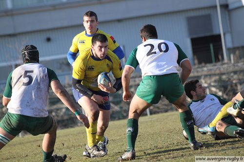 Photo VRO pour Auvergne-rugby.fr
