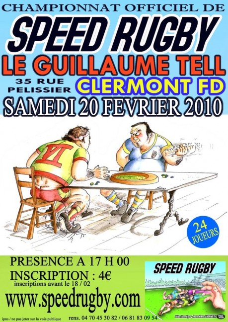 affiche tournoi speed rugby albi
