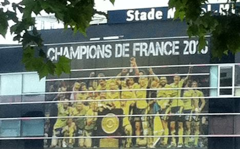 Stade Marcel Michelin Clermont Champions de France 2010