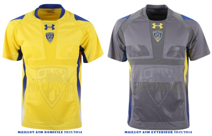 Maillot ASM RUGBY 2013 2014