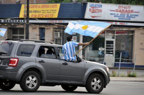 Fans Argentins