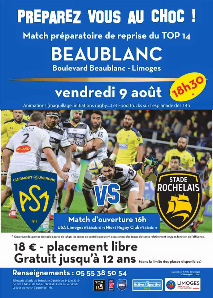 ASM vs La Rochelle